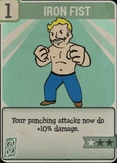 Iron Fist Perk Card