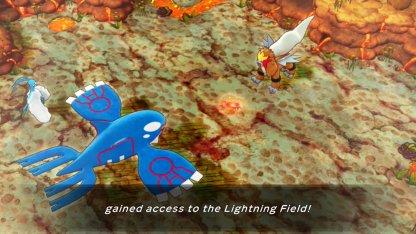 Must Complete Fiery Field to Unlock