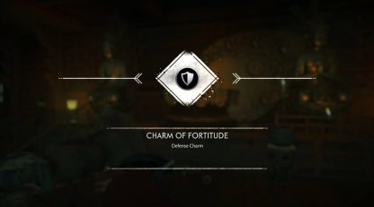 Receive Charm of Fortitude