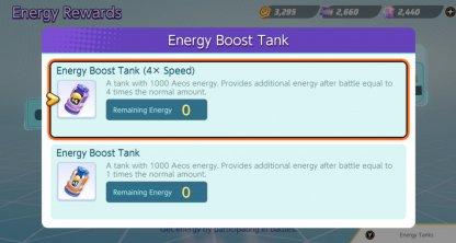 Use Energy Tanks