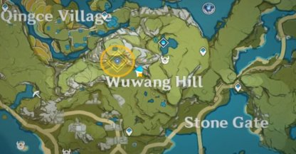 Treasure Location - 2