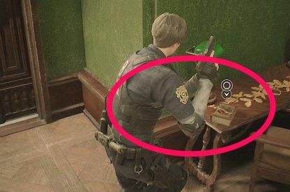 Resident Evil 2 Leon red book