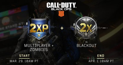March 29 2XP Weekend