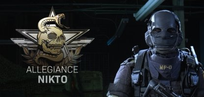 Nikto Allegiance can now be bought from the store