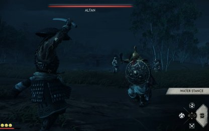 Use Water Stance Against Altan