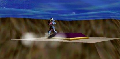 Metal Mario Power Runs Out