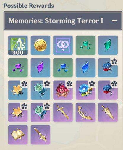 Confront Stormterror - Rewards