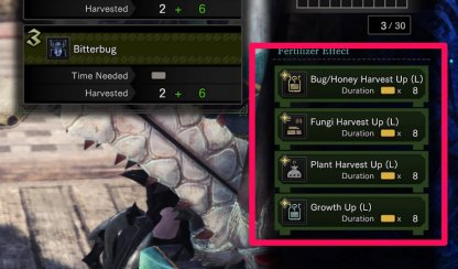 Use Fertilizer To Grow Items Efficiently