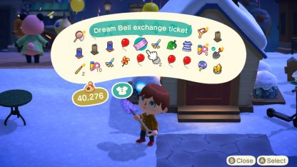 Dream Bell Exchange Tickets
