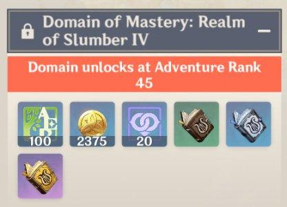 Forsaken Rift Domain - Rewards