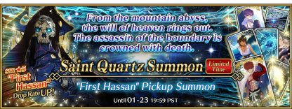 First Hassan Pickup Summon Banner