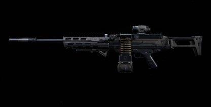 Dusk LMG Weapon Details