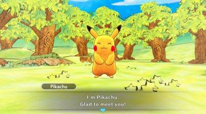 Choosing your partner Pokemon