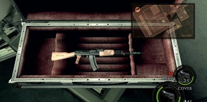 AK-47 is in Silver Weapon Box