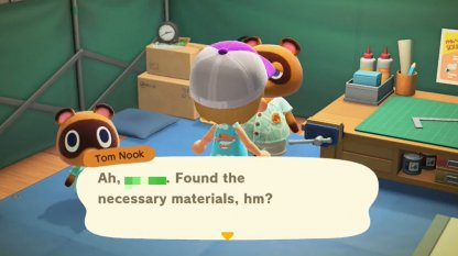 Recipe Unlocks After Giving Tom Nook Bugs & Fish