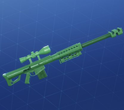 GREEN TOY Wrap - Sniper Rifle