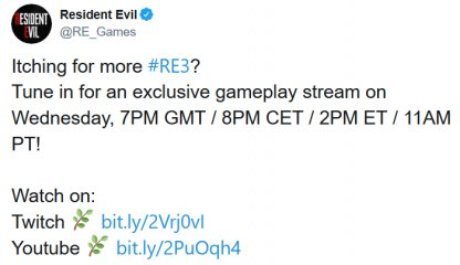Exclusive Gameplay Stream Coming Soon!
