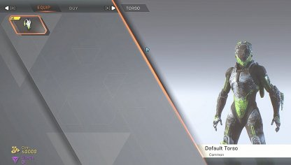 Anthem Customize Appearance In The Forge