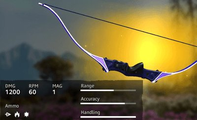 Far Cry New Dawn Blood Dragon Recurve Bow