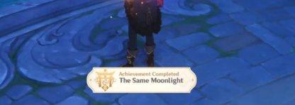 Unlocks The Same Moonlight Achievement