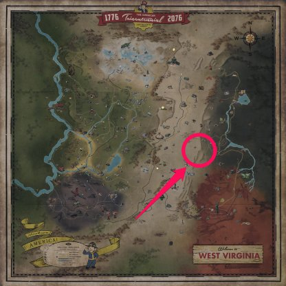 Fallout 76 How to Find Gears