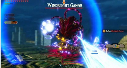 Stay Close To Windblight Ganon During Energy Blasts