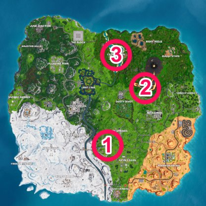 Flaming Hoops - Locations