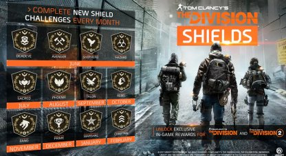 Collect Shields In Division 1