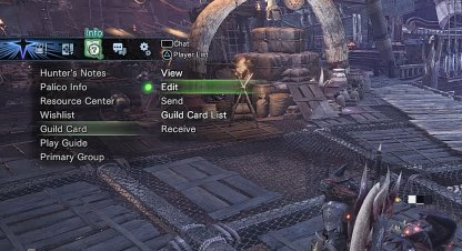 How to Exchange Guild Cards