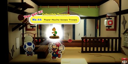 Paper Macho Koopa Troopa
