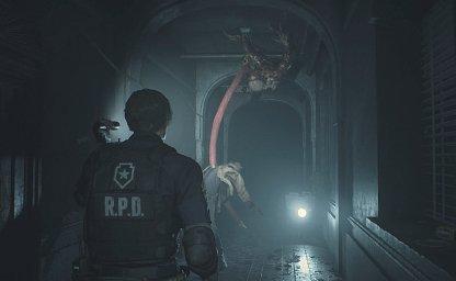 Resident Evil 2 Leon Licker
