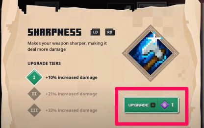 Used To Upgrade Enchantments