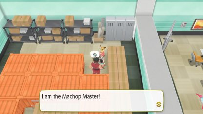 Machop Master Trainer