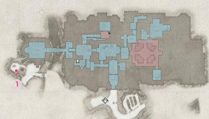 Castle  - Outhouse Location & Map