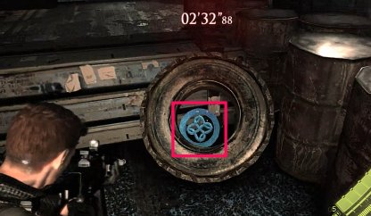Emblem Location 4 - Inside Tire