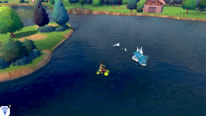 Traverse Water with the Rotom Water Bike