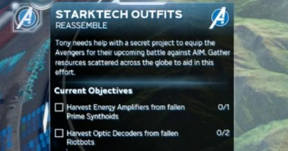 Starktech Outfits