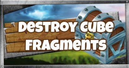 Destroy 3  Cube Fragments Challenge (Fortnitemares Part 4)