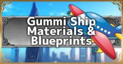 Kingdom Hearts 3 | KH3 Gummi Ship - Customization, Blueprints, & Materials