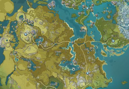 Snapdragon Locations Liyue