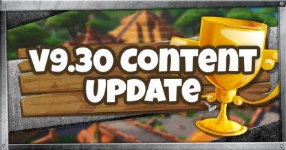 v9.30 Content Update