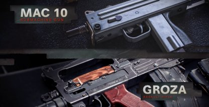 Groza and Mac 10