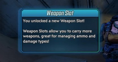 Weapon Slot Unlock