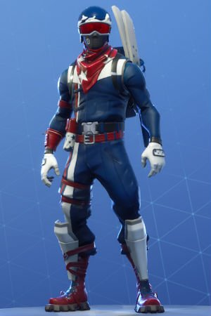 Skin Outfit ALPINE ACE USA