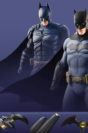 THE DARK KNIGHT MOVIE OUTFIT Front