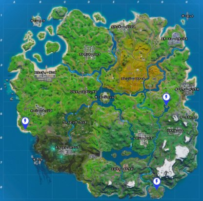 All Locations To Complete The Challenge