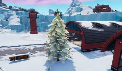 Dance at Holiday Trees - 14 Days of Fortnite Challenge