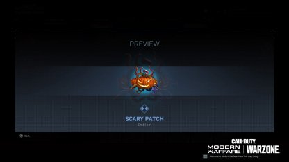 Scary Patch (Rare)