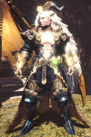Master Rank Kulve Taroth Armor α+ Male