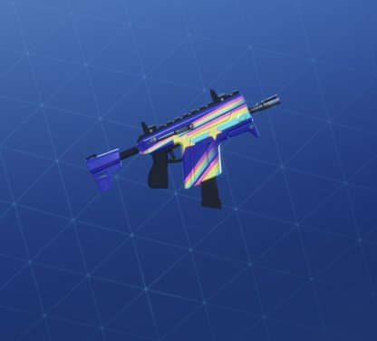 BRITE STARS Wrap - Submachine Gun